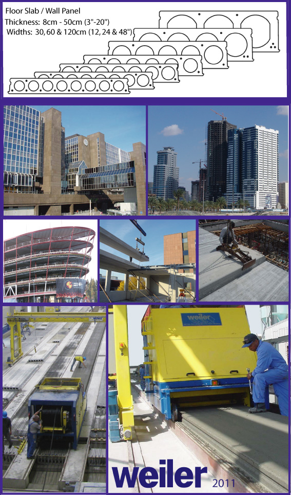 Weiler GmbH - Concrete Slipformer and Extruder Machines and Plants